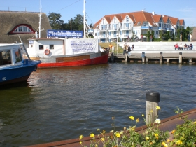 Am Bodden in Zingst