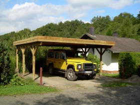 Neues Carport